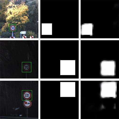 Convolutional neural network hypothesis of sign position