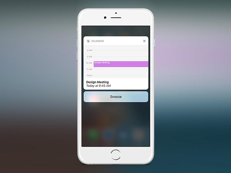iOS 10: Notifications