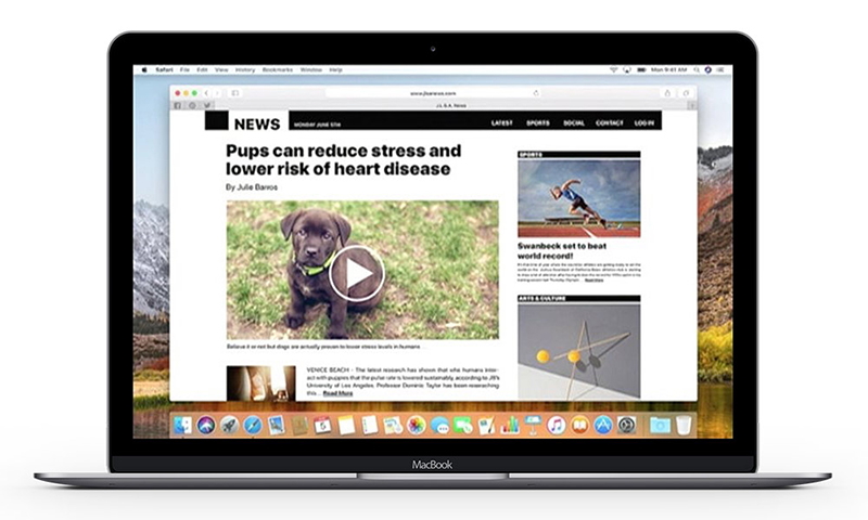 WWDC 2017: Safari blocks video autoplay
