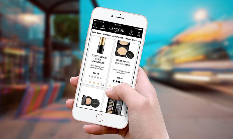 Lancome Progressive Web App