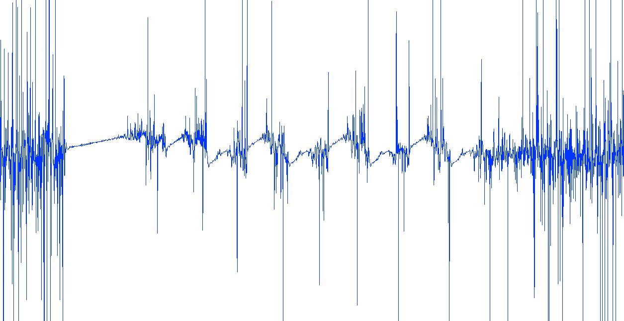modulating frequency, extracted from the signal via heterodyne demodulator