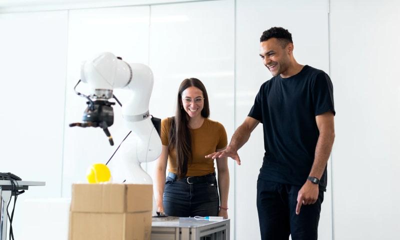 Robotics technology in IT