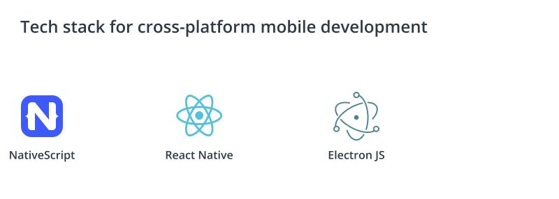 Tech stack for cross-platform development